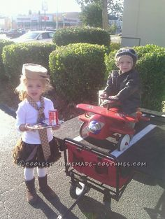Last-Minute Airplane Pilots and Stewardess Costumes for Kids. Halloween 2013, Halloween Costume Contest, Halloween Costumes For Kids, Stewardess Costume, My Newborn Baby, Airplane Pilot, Last Minute Costumes, Homemade Costumes, Cute Costumes