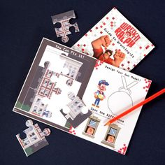Wreck-It Ralph Activity Book
