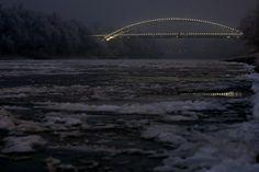Itthon: Félelmetesen gyönyörű a befagyott Tisza – fotó - HVG.hu