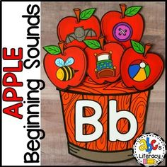 This Apple Beginning Sounds Sort is an engaging, hands-on way to practice identifying letter sounds at the beginning of a word. You can easily differentiate this letter sound sort for preschool, kindergarten, or first grade students. This Fall activity is perfect for literacy centers, morning tubs, ...