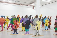 Lubaina Himid: a trio of UK shows shines a light on the under-appreciated hero of black British art