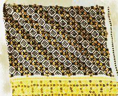 teleorman blouse detail Romania, Textiles, Embroidery, Detail, Blouse, Hobbies, Needlepoint, Blouses, Fabrics