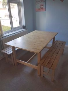 FOR SALE Bench Dining Table