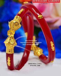 Gold Bangles Design, Gold Earrings Designs, Jewelry Design, Gold Kangan, Bengali Jewellery, Gold Costume Jewelry, Bengali Wedding, Bridal Bangles, Gold Designs