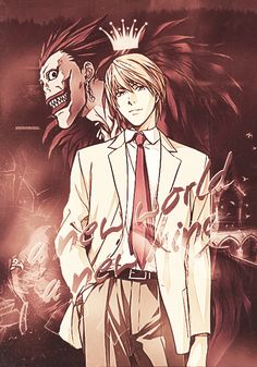 The new king #LightYagami #Ryuk #DeathNote