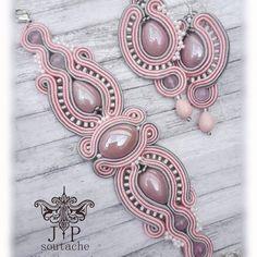 Soutache Bracelet, Soutache Jewelry, Boho Jewelry, Jewelry Sets, Beaded Jewelry, Jewelery, Handmade Jewelry, Beaded Necklace, Jewelry Design