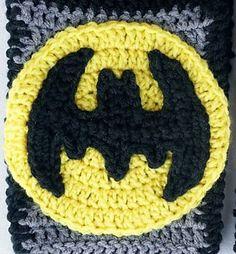 Ravelry: Batman Applique Crochet Pattern pattern by Magenta Bard