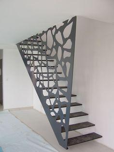 Réalisations garde corps 29, pose escaliers Guipavas - Finistère - Alphametal 29