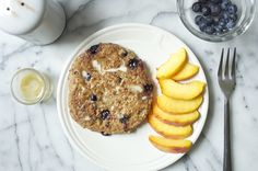instant oatmeal pancakes — dollyandoatmeal