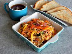 DIY Baked Vegetable Noodles Recipe! #diy #recipe #baked