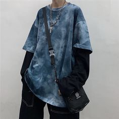 Discover fashion and beauty online with YesStyle! Shop for Men's Clothing - FREE Worldwide Shipping available! Indie Outfits, Cute Casual Outfits, Edgy Outfits, Retro Outfits, Grunge Outfits, Fashion Outfits, Fashion Fashion, Unisex Outfits, Grunge Clothes