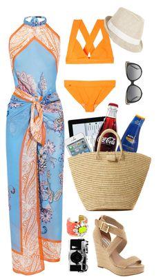 Not the bikini Beach Vacation Outfits, Summer Outfits, Stylish Outfits, Cute Outfits, Fashion Outfits, Love Fashion, Fashion Looks, Hand Painted Dress, The Bikini