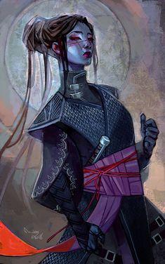 Commission for Alice of her Star Wars OC Lyska :)