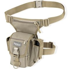 THERMITE VERSIPACK Tactical Nylon Gear Hip Waist Bag with Leg Strap - MAXPEDITION HARD-USE GEAR Tactical Nylon Gear for Military, Law Enforcement, Tactical Concealed Carry; Tailored to Perform Tactical