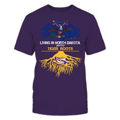 LSU Tigers - Living Roots North Dakota