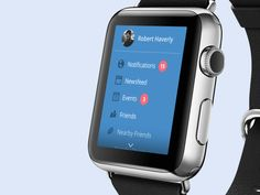 Facebook for Apple Watch
