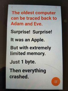 Ha ha ha ha. Clever!