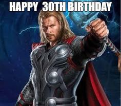 🎂 Celebrate your friends birthay we our collection of funniest Birthday Meme, share your love on all social media! 30th Birthday Meme, Best Birthday Wishes, Very Happy Birthday, Birthday Messages, Simple Birthday Message, Interesting Meme, Friends Laughing, The Good Old Days, Thor