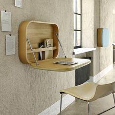 10 idées déco de bureau mural rabattable