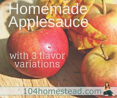 I eat applesauce not only as a snack, but I also enjoy recipes using applesauce. Homemade applesauce is delicious, but I like to give it some pizzazz with add-ons. Recipe Using Applesauce, Homemade Applesauce, Applesauce Recipes, Beginner Baking Recipes, Cooking For Beginners, Sugar Free Baking, Canned Meat, Good To Great, Cooking On The Grill