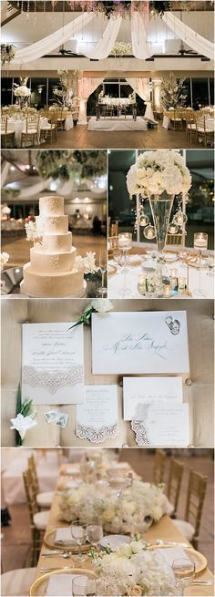 Featured Photographer: Jacqui Cole Photography; Click to see more more elegant details about this ballroom wedding reception.