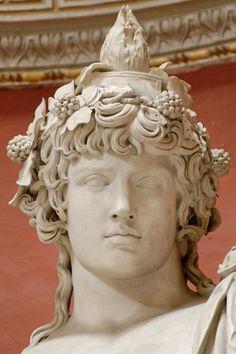 Antinous_Pio-Clementino_Inv256_n7 Ancient Rome, Ancient Art, Ancient Greek, Art Romain, Alexandre Le Grand, Roman Sculpture, Roman Art, Greek Art, Classical Art