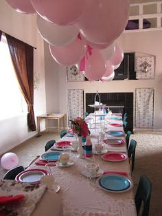 Hello Kitty Tea Party   Planned and Designed by Entwined Planning