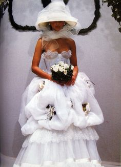 Christy Turlington for Valentino Couture Spring 1993