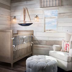 Shiplap and Siling #boy's #nursery