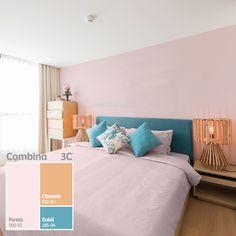 Un tono suave que será ideal para crear espacios serenos y tranquilos, conoce nuestro color Pureza.