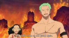 Roronoa Zoro and Usopp One Piece Film, One Piece Funny, One Piece Manga, Me Anime, Anime Manga, Anime Stuff, Anime Meme, Comedy Anime, Otaku