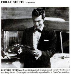 frilly shirt