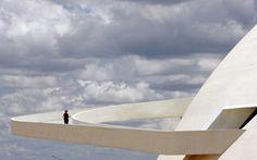 Oscar Niemeyer's National Museum in Brasilia
