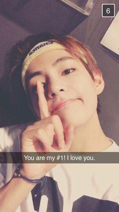 BTS || V - I AM your #1 and I love you too!!! #BTS #V