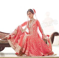 Anarkali Bridal Frock Latest Collection by Natasha Couture for Girls | Fashion Trends Pk