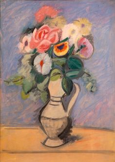 "Arshile Gorky, ""Flowers in a Pitcher"" (ca. 1939) 