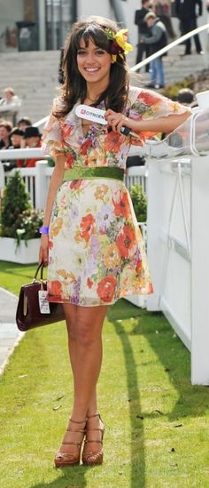 An inspiration for a dress to find to wear to mothers day brunch
