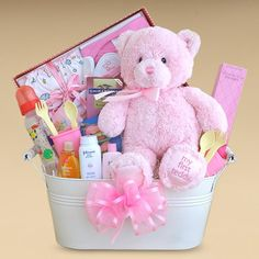 baby gifts | Gift Baskets Created : Baby Girl Gift Basket