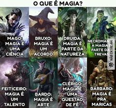 Magia segundo as classes Arte Nerd, Otaku Meme, Geek Humor, Gaming Memes, Nerd Geek, Fantasy World, Skyrim, Mythical Creatures, Best Memes