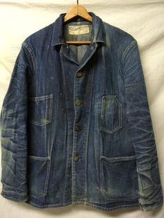 Denim workwear jacket