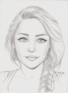 Drawing Inspiration Miley Face Ideas