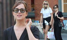 Dakota Johnson stuns in elegant loose-fitting ensemble on low-key NYC outing | Daily Mail Online