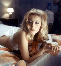 Catherine Deneuve in Belle de Jour' - 1967 Luis Bunuel. Happy Birthday Ms. Deneuve. October 22