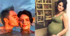 Aislinn Derbez muestra su barriga en el tercer trimestre de su embarazo #Farándula #AislinnDerbez #embarazo #MauricioOchmann