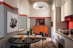 〚 Colorful eclectic interiors of old palazzo in Brescia, Italy 〛 ◾ Photos ◾ Ideas ◾ Design #beige #kitchen #interiordesign #homedecor #ideas #inspiration #tips #cozy #living #style #space #interior #decor Palazzo, Italy, Interior Design, Inspiration, Beige Kitchen, Art Walls, Furniture, Cozy Living, Home Decor