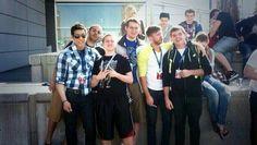 Evan, marcel, tyler, etc. at pax east