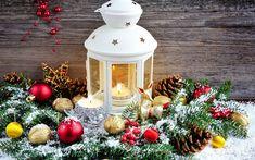 Download wallpapers Christmas, flashlight, New Year, decoration, Christmas balls
