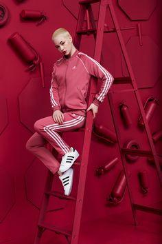 AdiColor for Adidas Campaign 2018 Shot Alongside HappyLucky