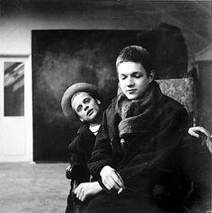 herbert tobias. klaus kinski und thomas harlan paris 1952