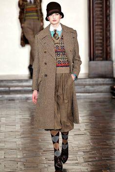 Ralph Lauren Fall 2012 Ready-to-Wear Fashion Show - Bette Franke